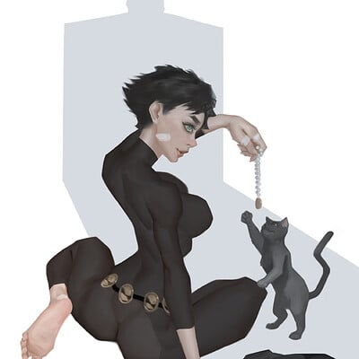 Warmics mario vazquez catwoman