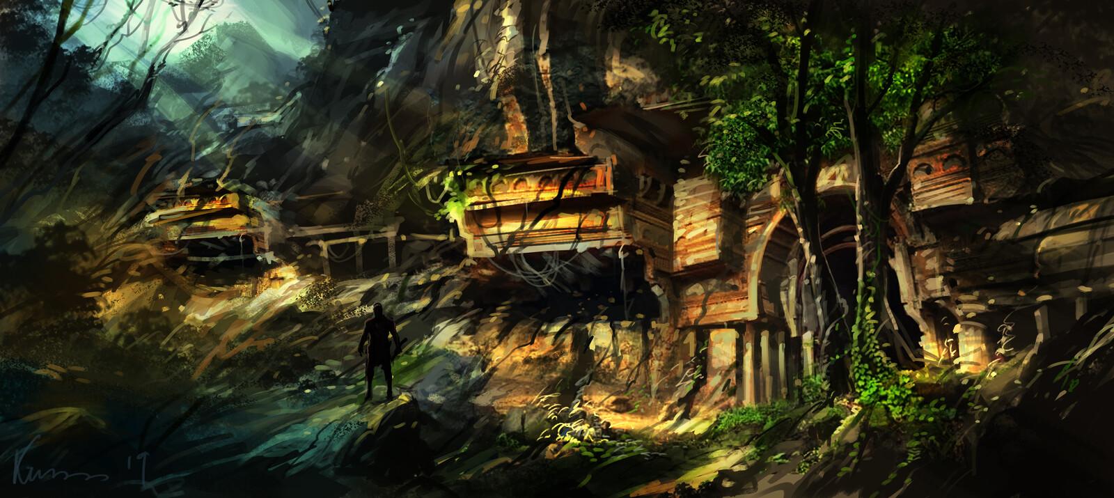 game environment  concept  1