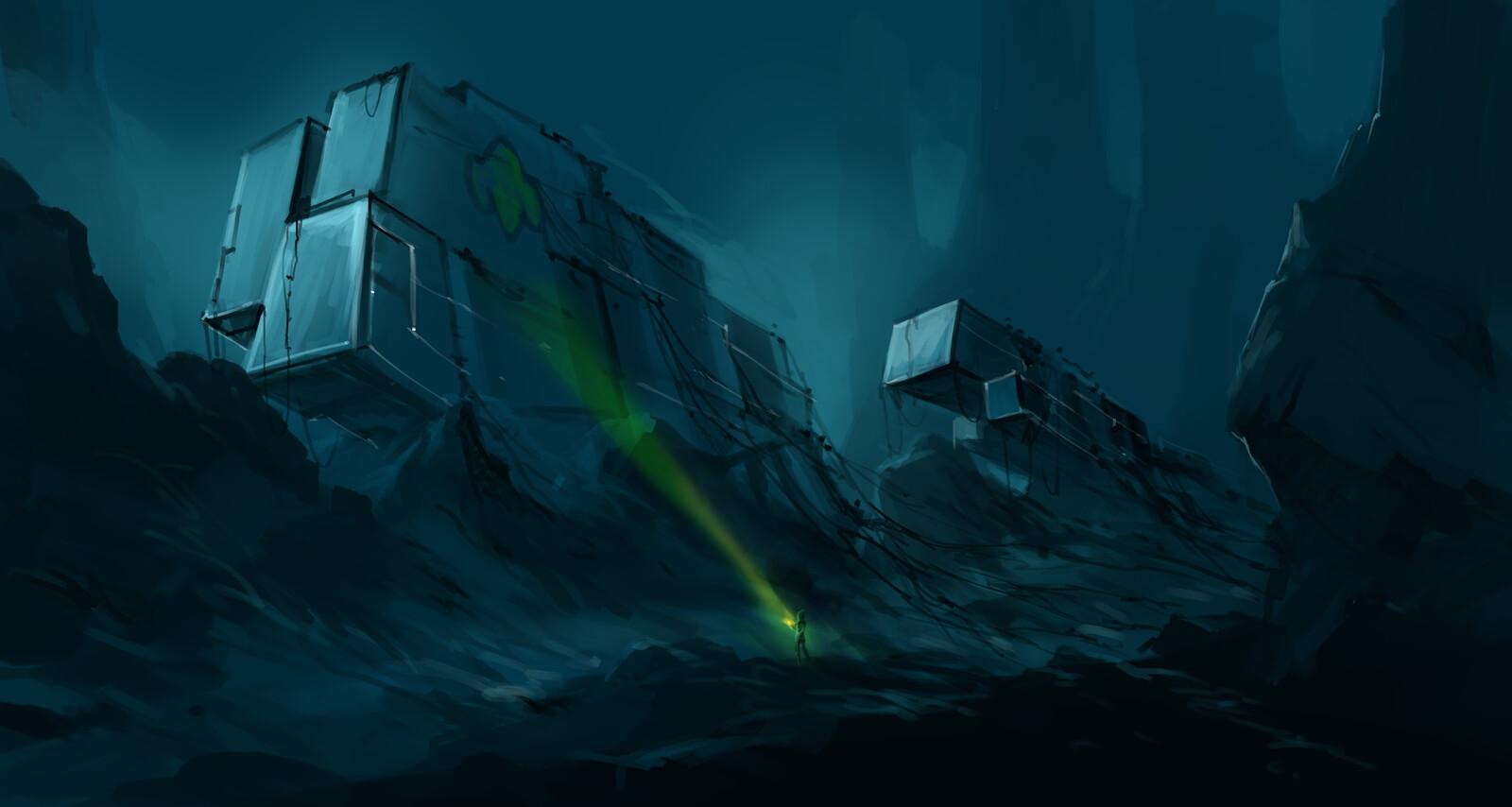 game environment  concept 2