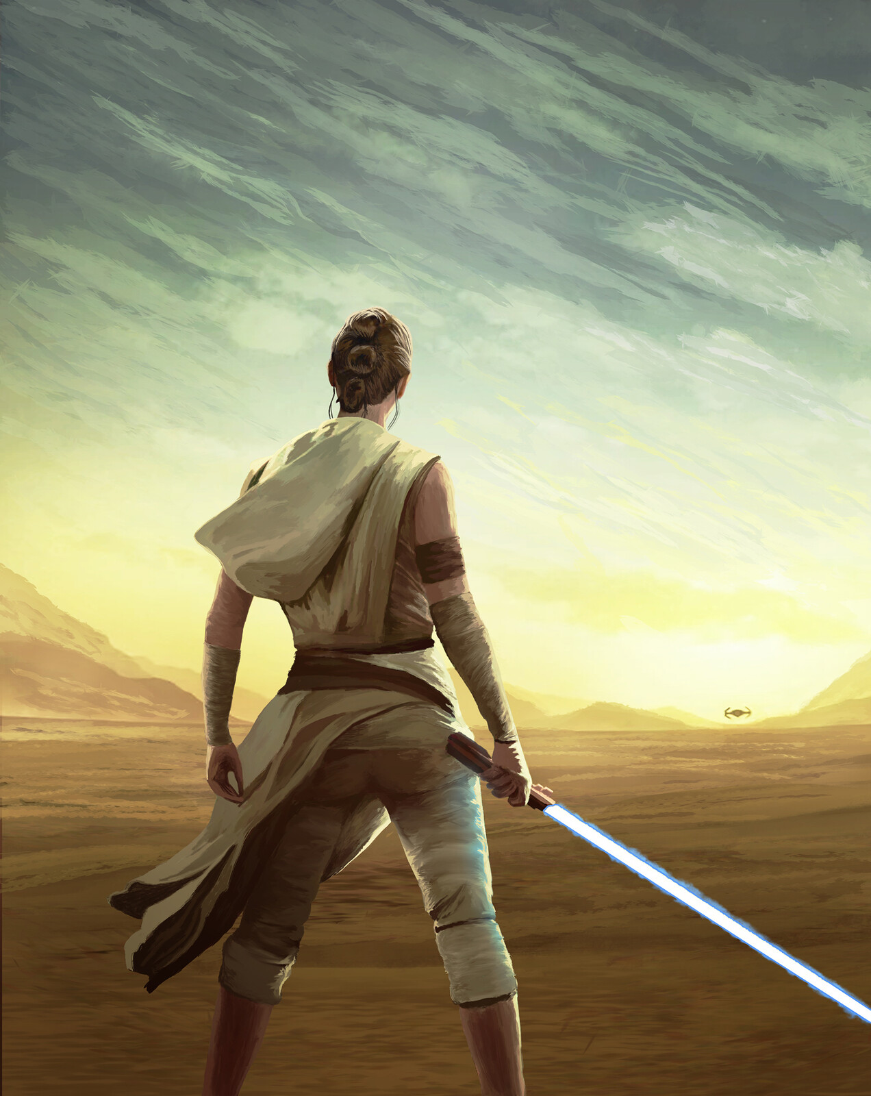 Star Wars Rise of Skywalker Fan Art