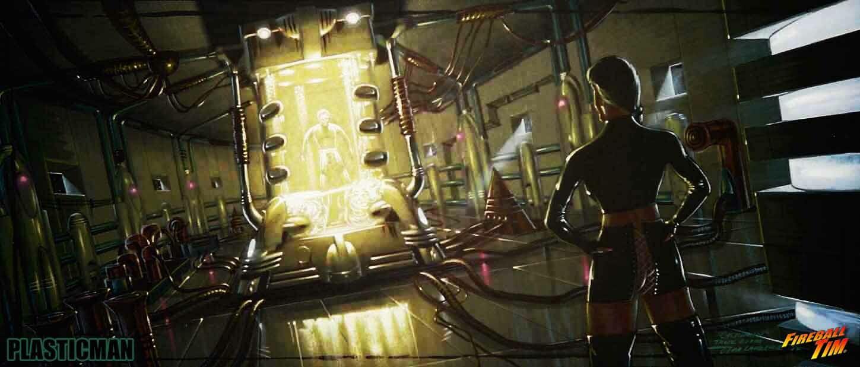 Main Laboratory - PLASTIC MAN