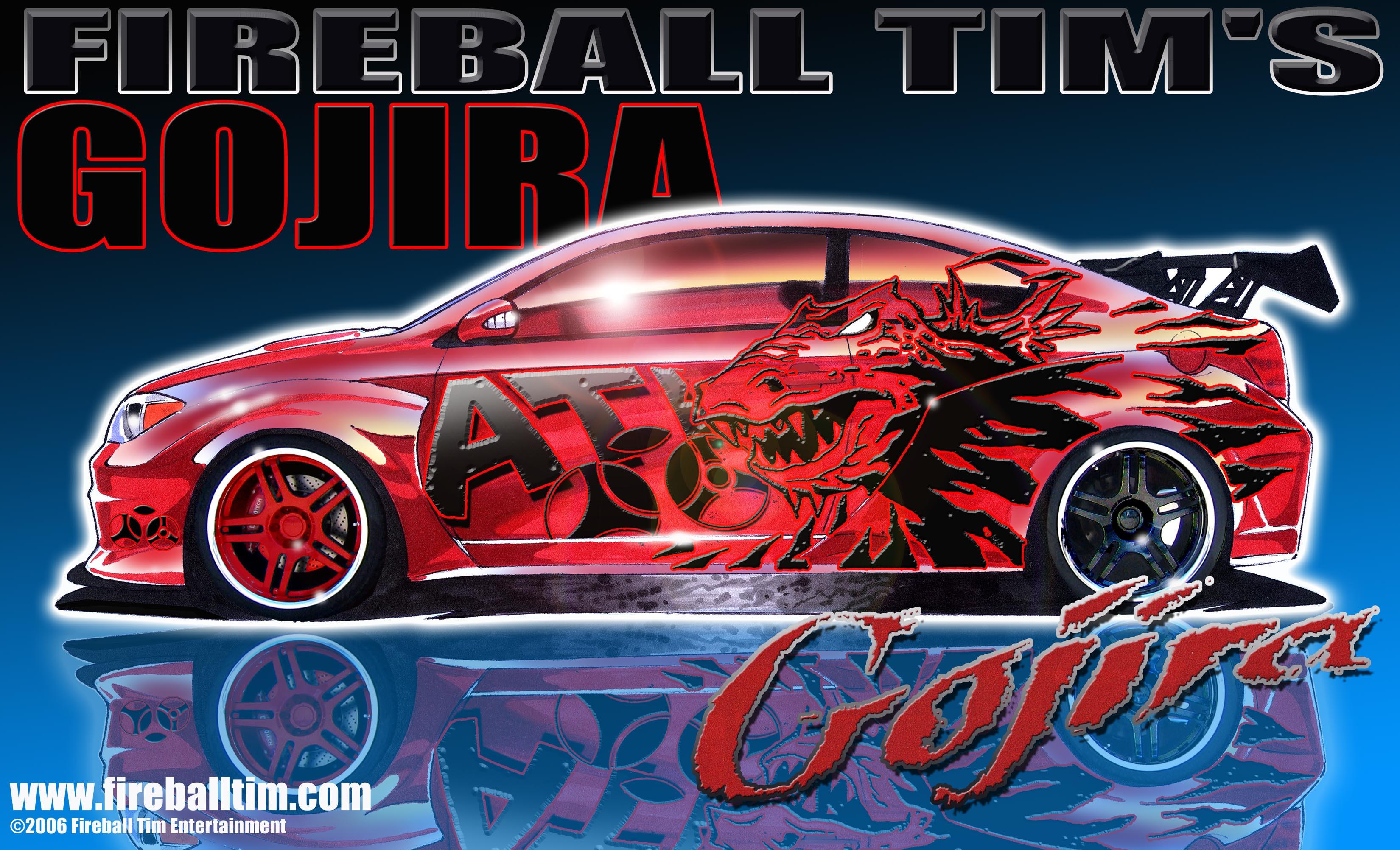 SCION GOJIRA SEMA CAR