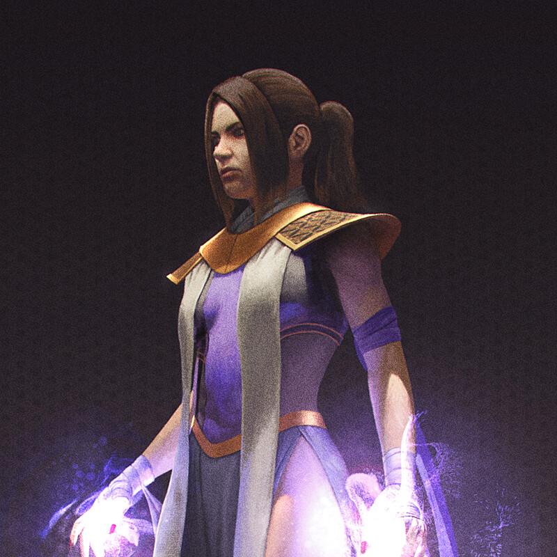 Character design - Usha
