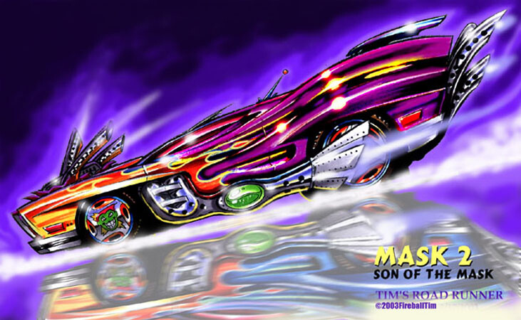 SON OF THE MASK - The Mask Muscle Car