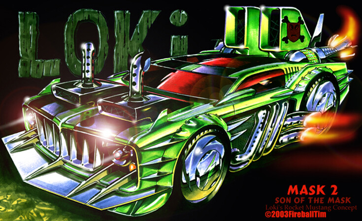 SON OF THE MASK - Loki's Mustang