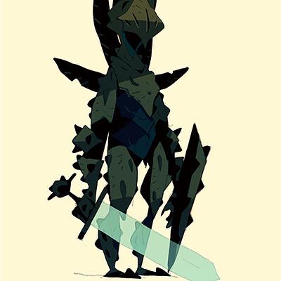 Satoshi matsuura 2019 12 09 spiky knight s