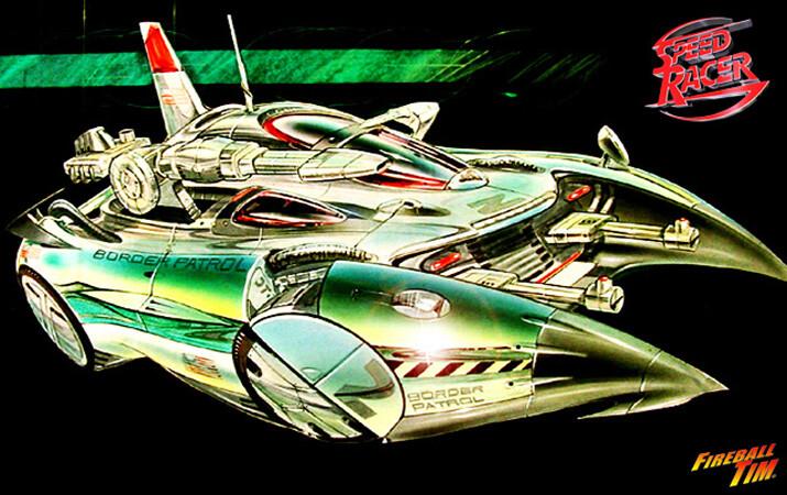 SPEED RACER - BORDER PATROL