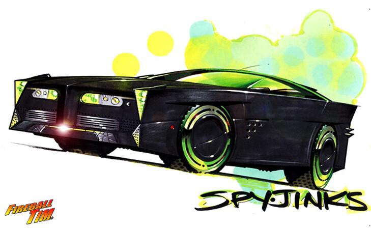 SPYJINX LOVEBIRD'S RIDE