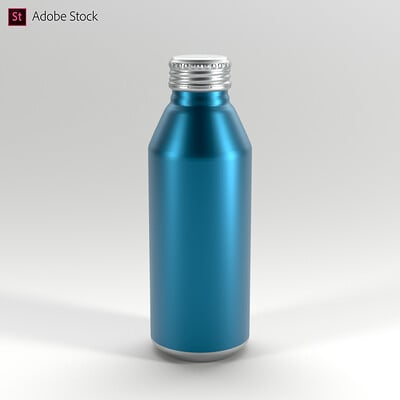 Adobe Stock | Aluminum Bottle