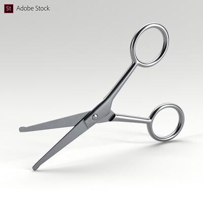 Adobe Stock | Facial Hair Scissors