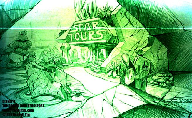 TOMORROWLAND - Star Tours - Disneyland