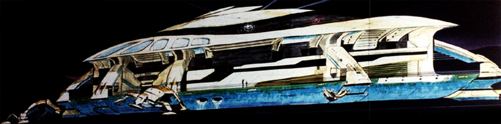 TOMORROWLAND - Main Ship - Disneyland