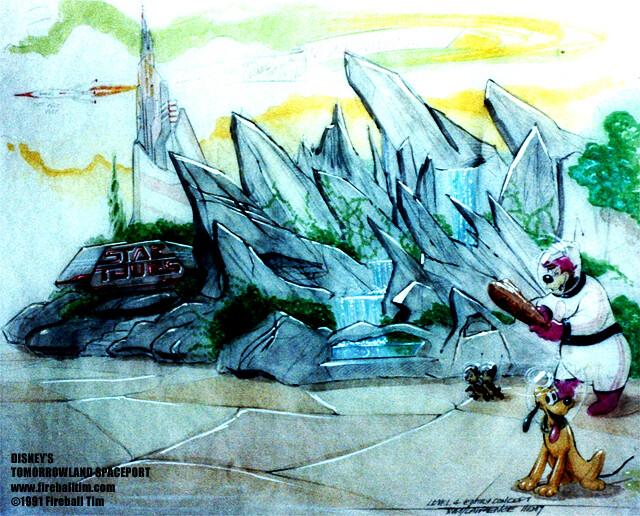 TOMORROWLAND - Entrance - Disneyland