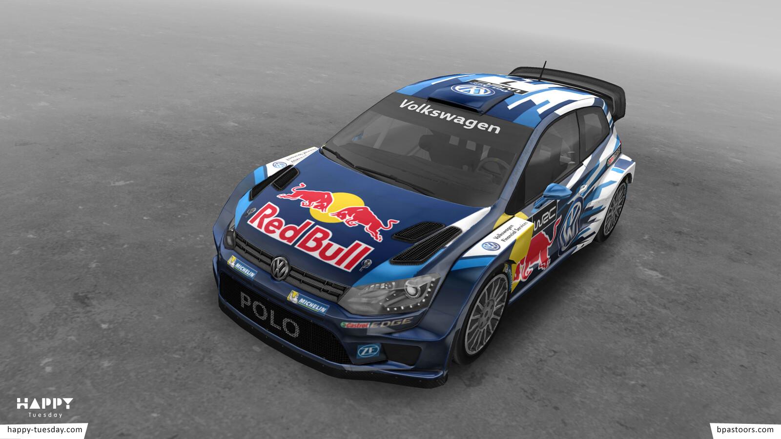 Race Anywhere - Polo WRC 2015