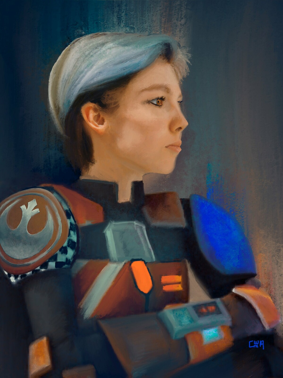 Star Wars Fan Art - Sabine Wren
