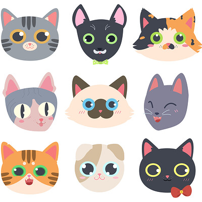 Cassie levin cat faces