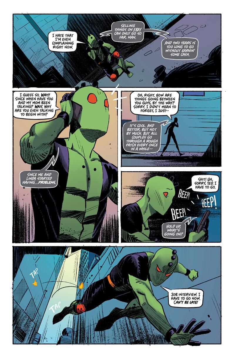 Hurdles (Comic Lettering, Logo Design, Interior Page Design)