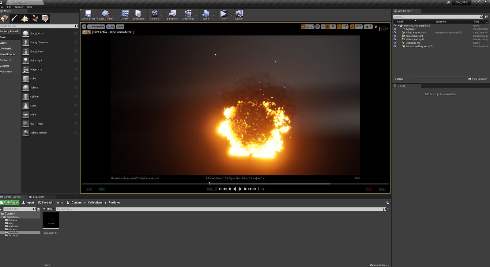 Unreal engine Screen Capture