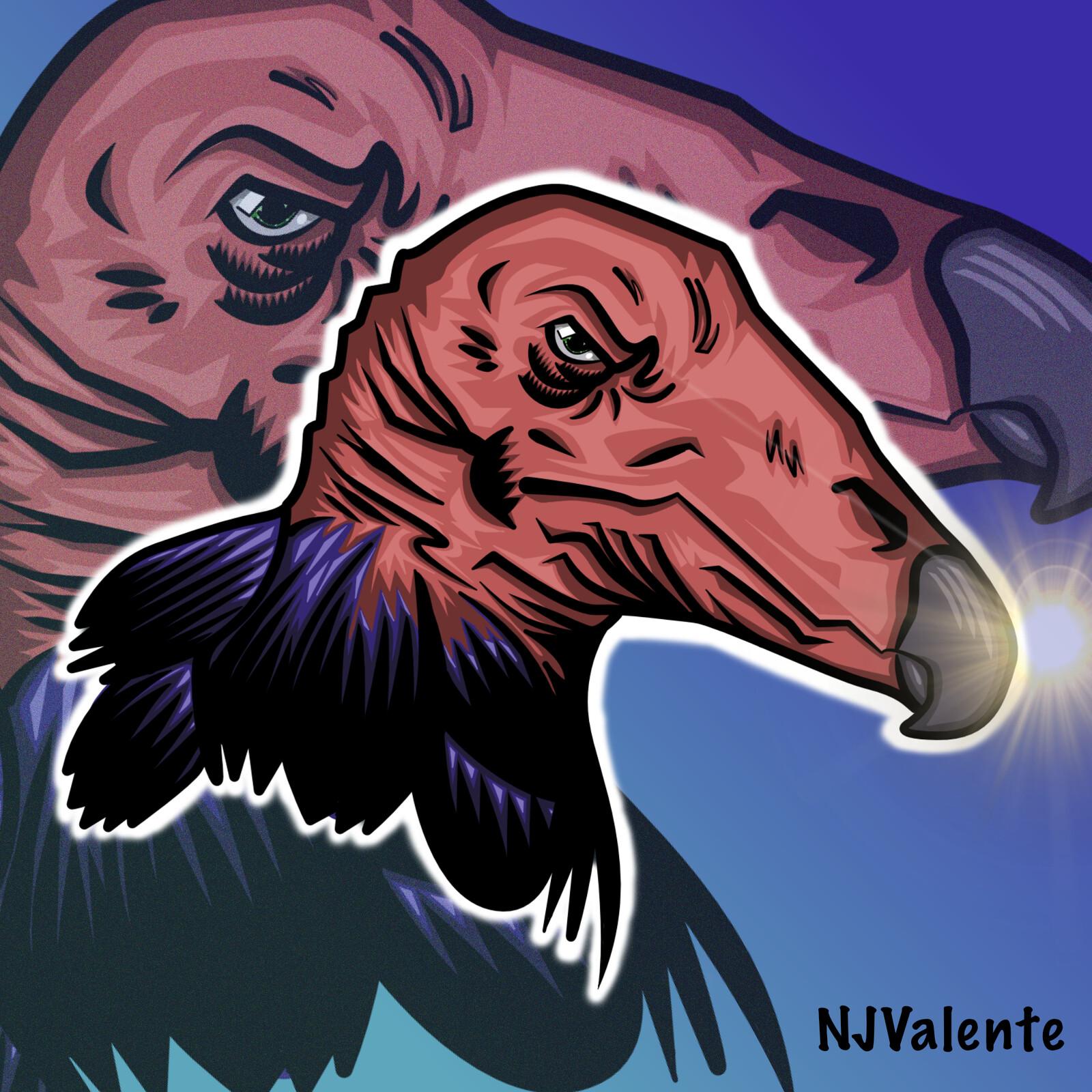 Voracious vulture