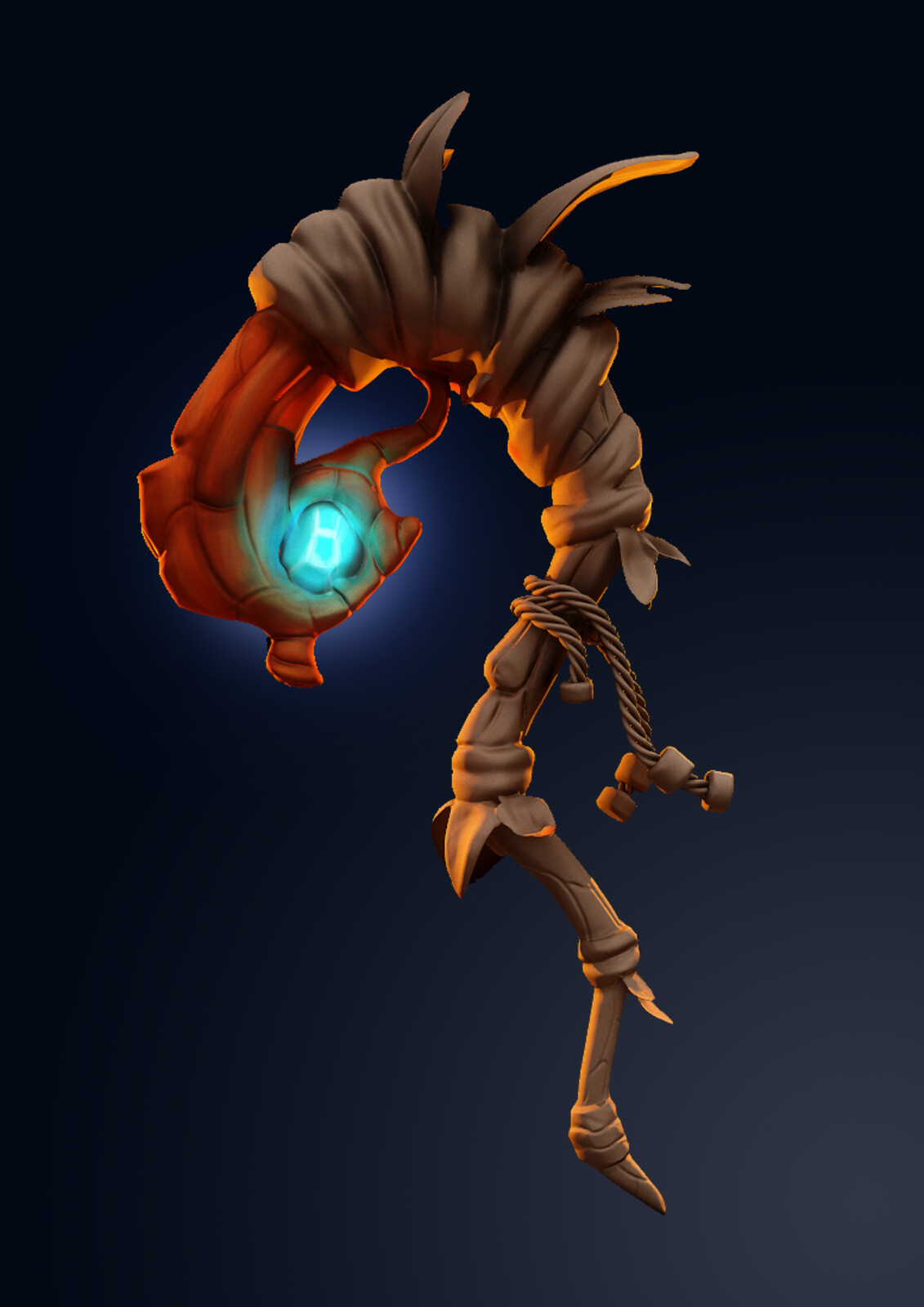 Druid's Staff // 3D // the job is not done