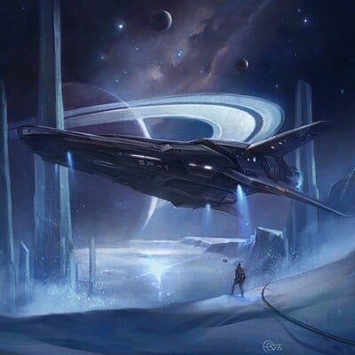 Eva kosmos eva kosmos sf 1 spaceship