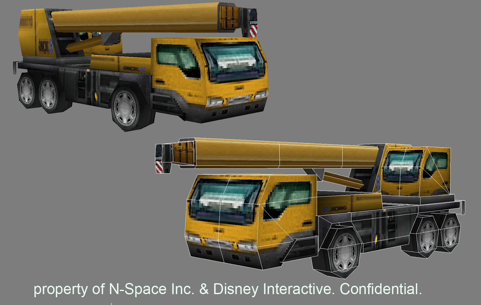 Assets modeled, textured and lighted for Disney's Aaron Stone DS. © Disney 2010 / © nSpace 2010