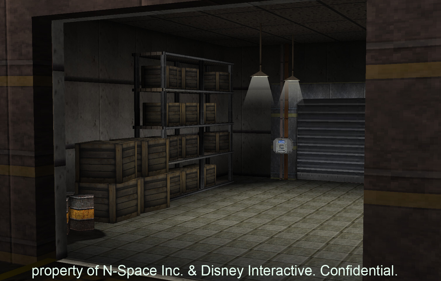 Environment modeled, textured and lighted for Disney's Aaron Stone DS. © Disney 2010 / © nSpace 2010