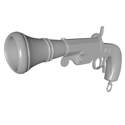 Blunderbuss Pistol Model