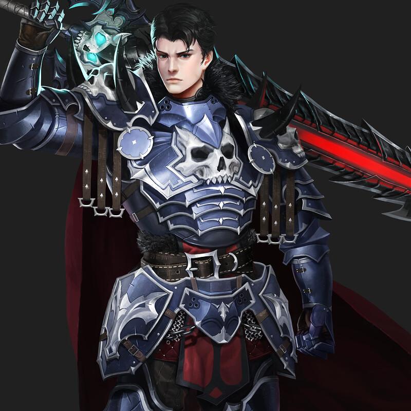 male dark knight