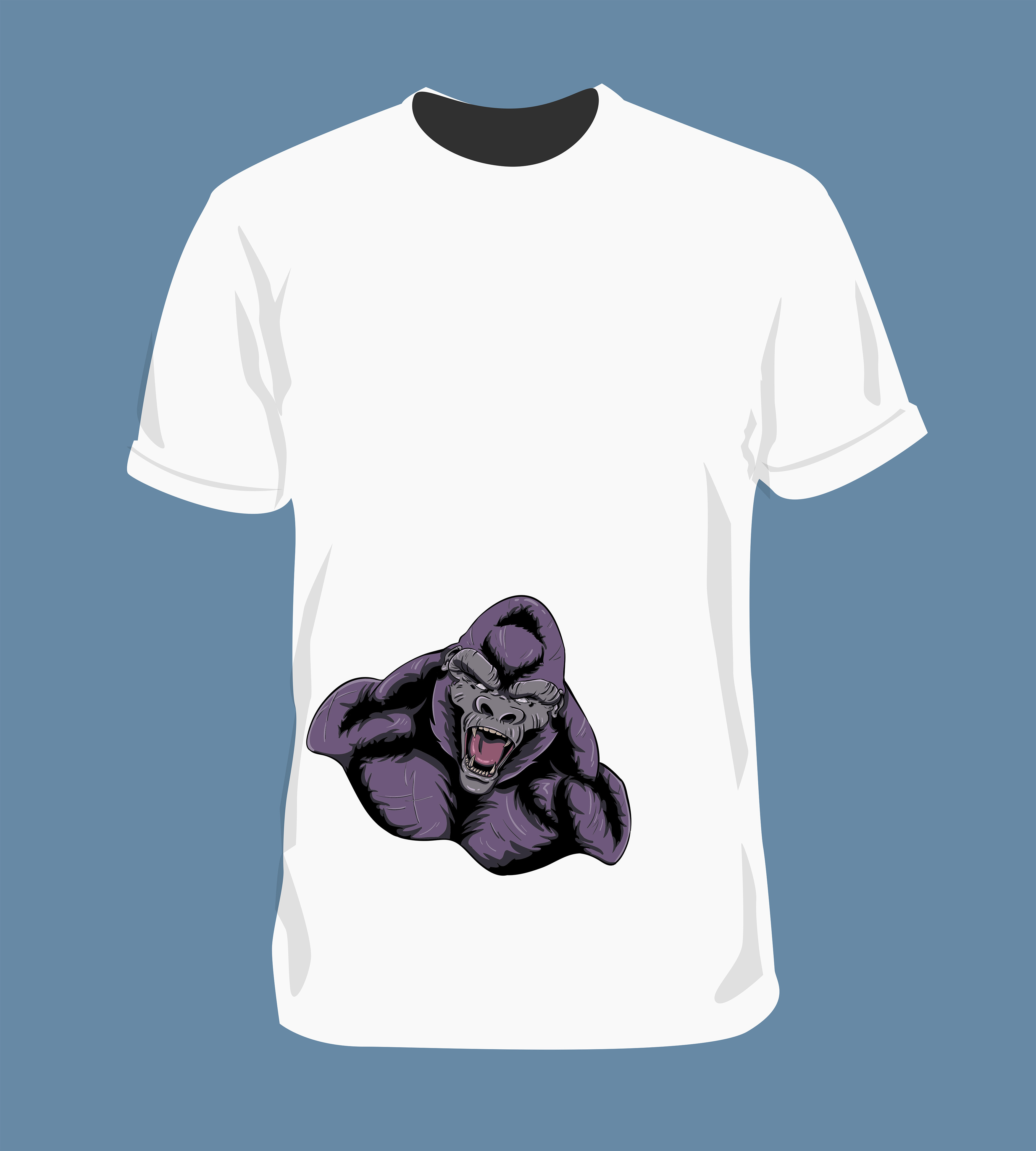 Vector illustration for tshirt design for eNVy Unltd.