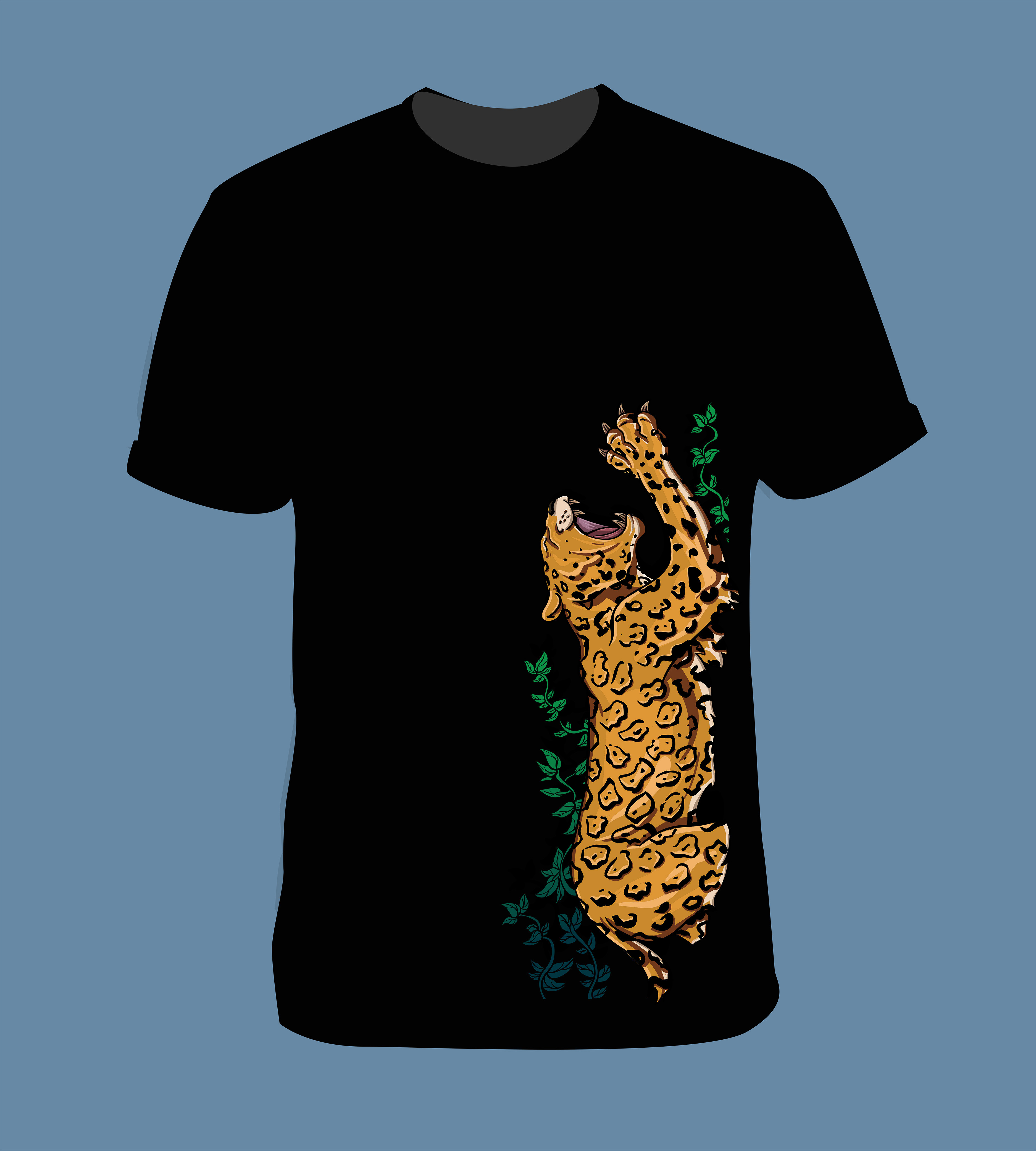 Vector illustration for merchandise development, eNVy Unltd clothing brand.
