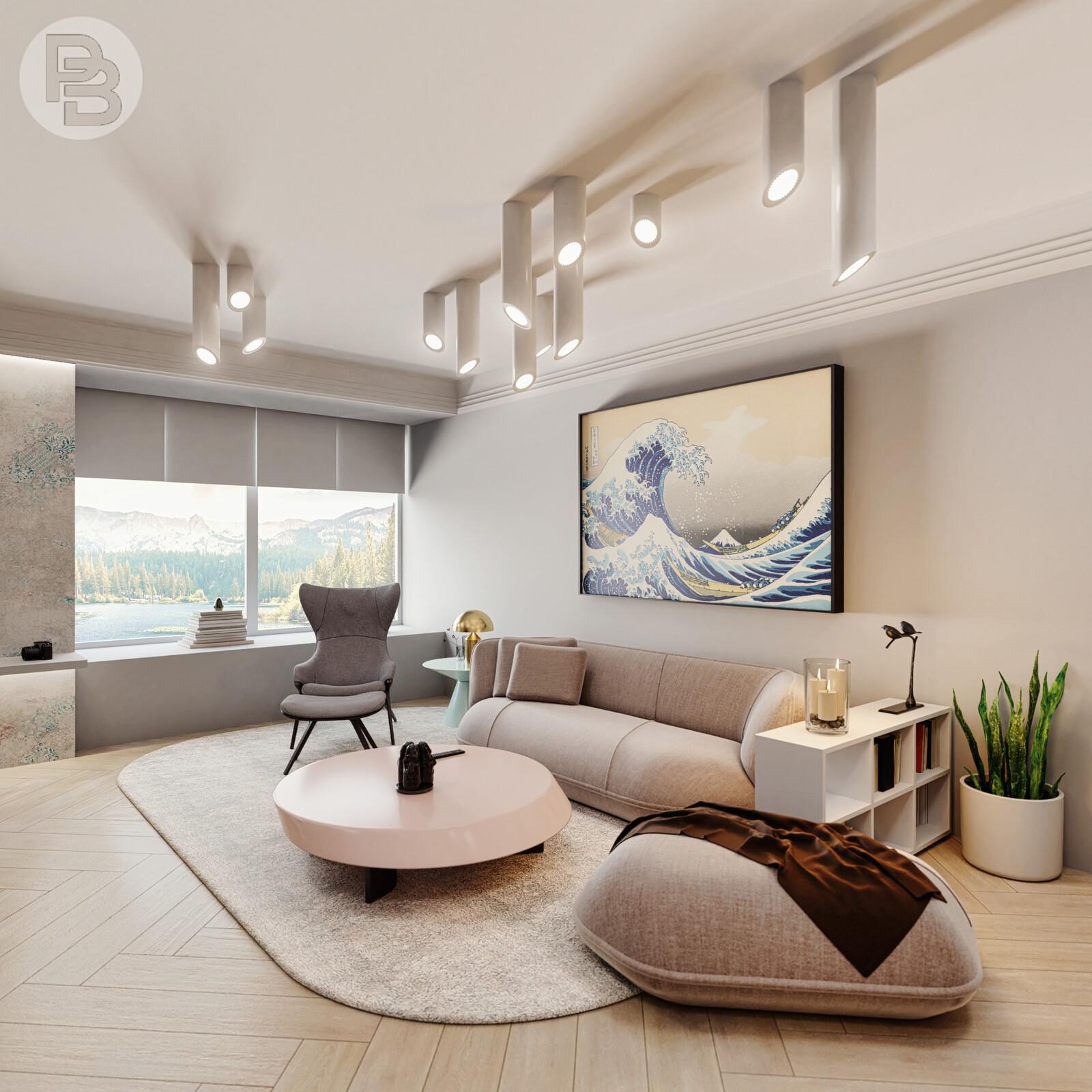 Kanagawa Living Room