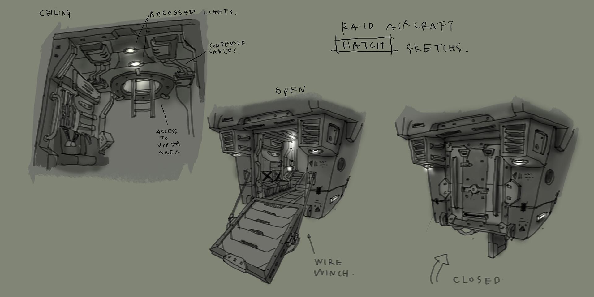 Lander Interior concept by Soosa Kim