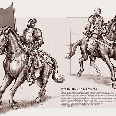Dot line surface art studio medieval knight mock up final