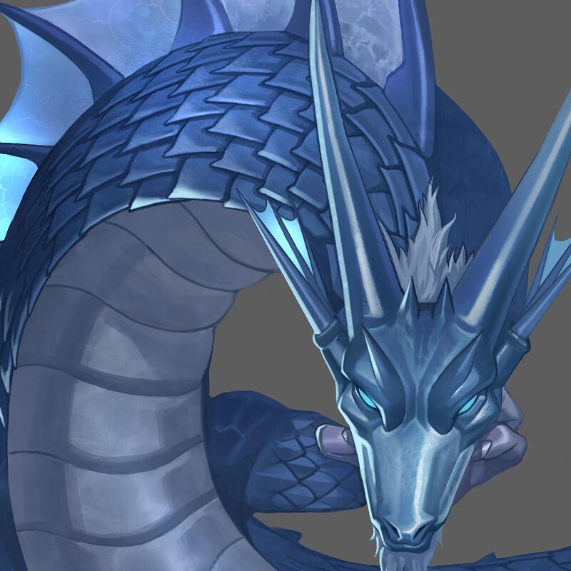 casual dragon concept arts