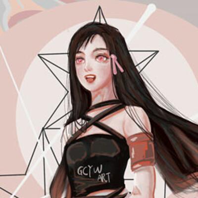 Gechunyi wang nezuko by gcyw art 2019 dec