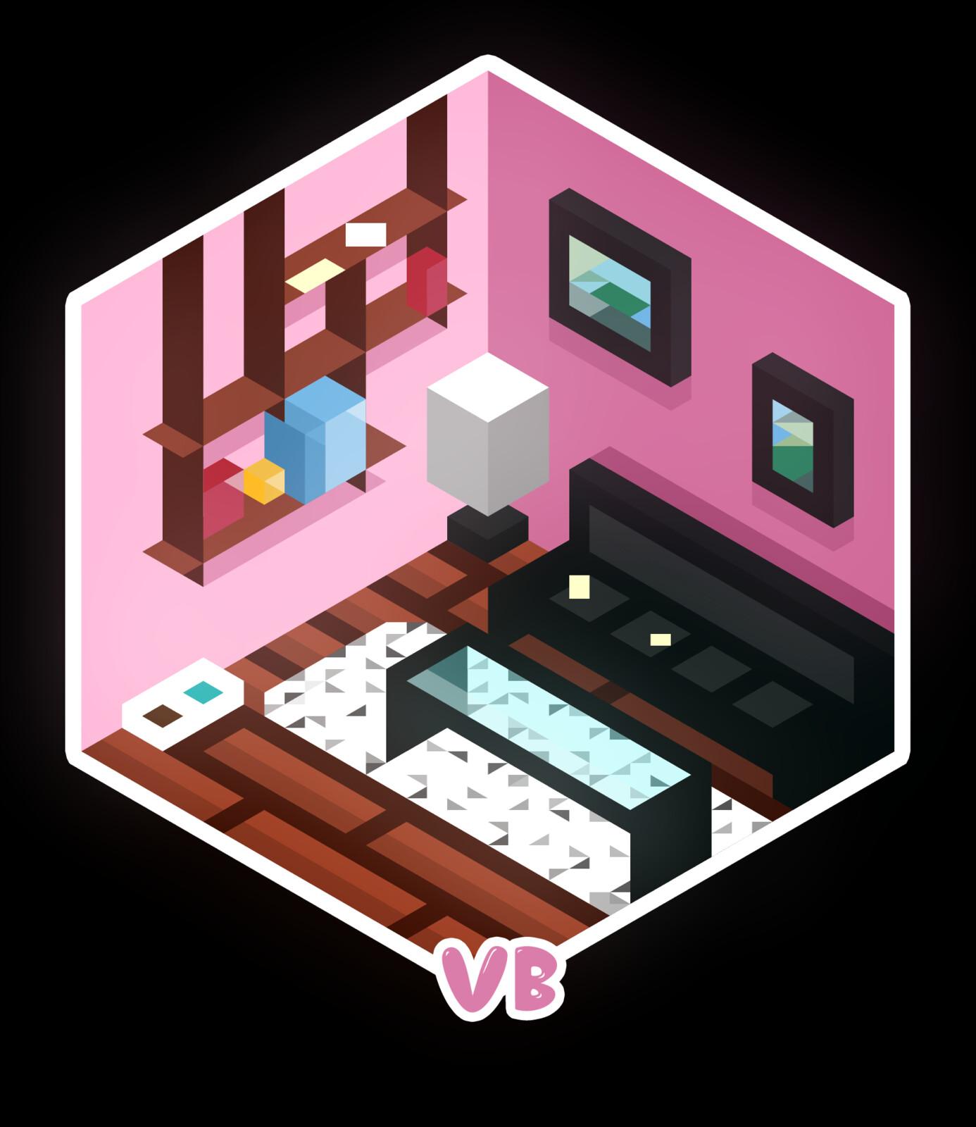Pink's bedroom