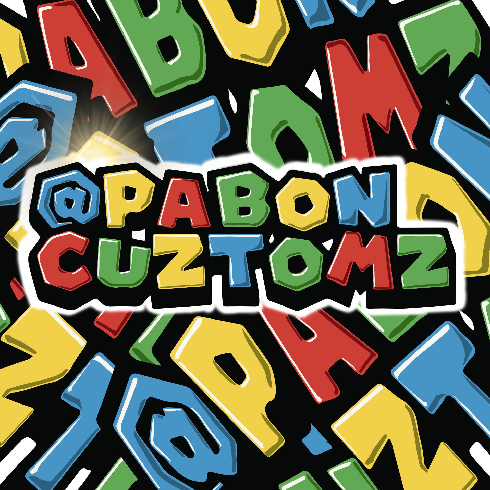 Logo re-design for @Pabon Cuztomz.