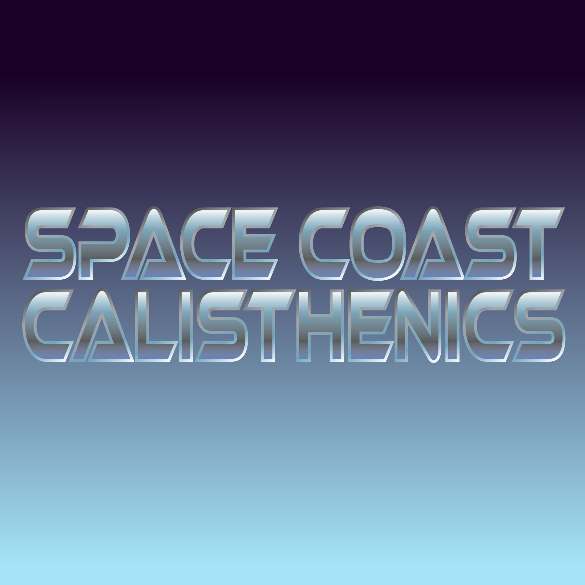 Space Coast Calisthenics logo design.
