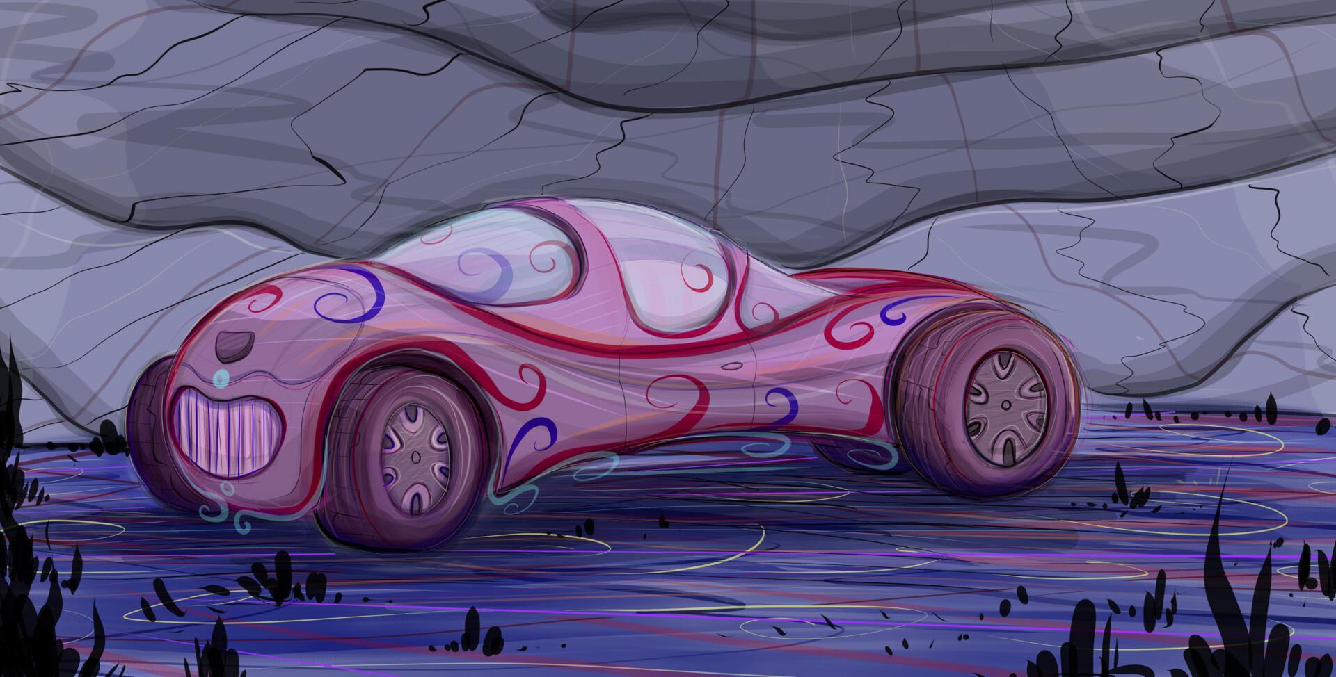 Psycience-Fiction Concept Car