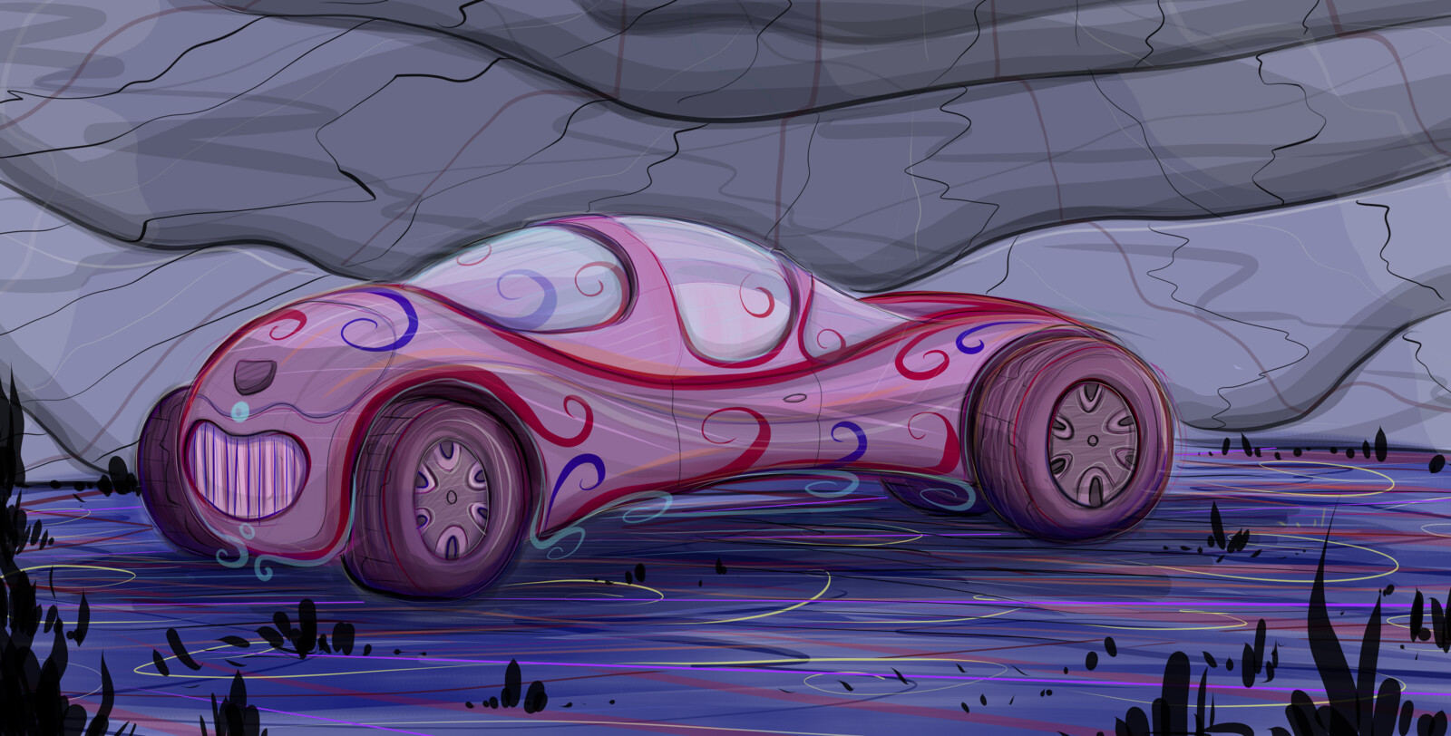 Psycience-Fiction Concept Car