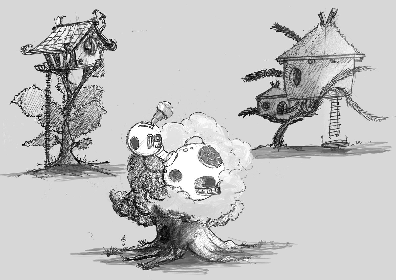 skt tree houses