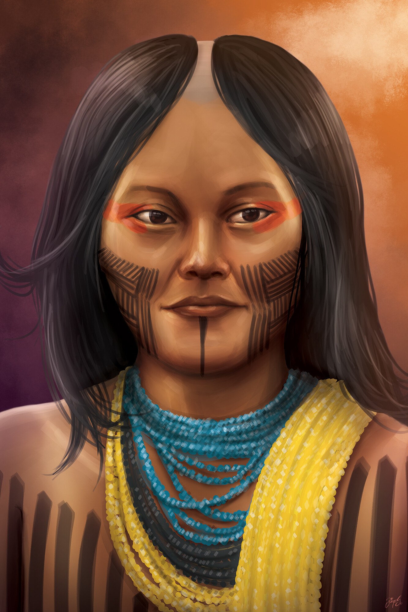 Game character - The Indian