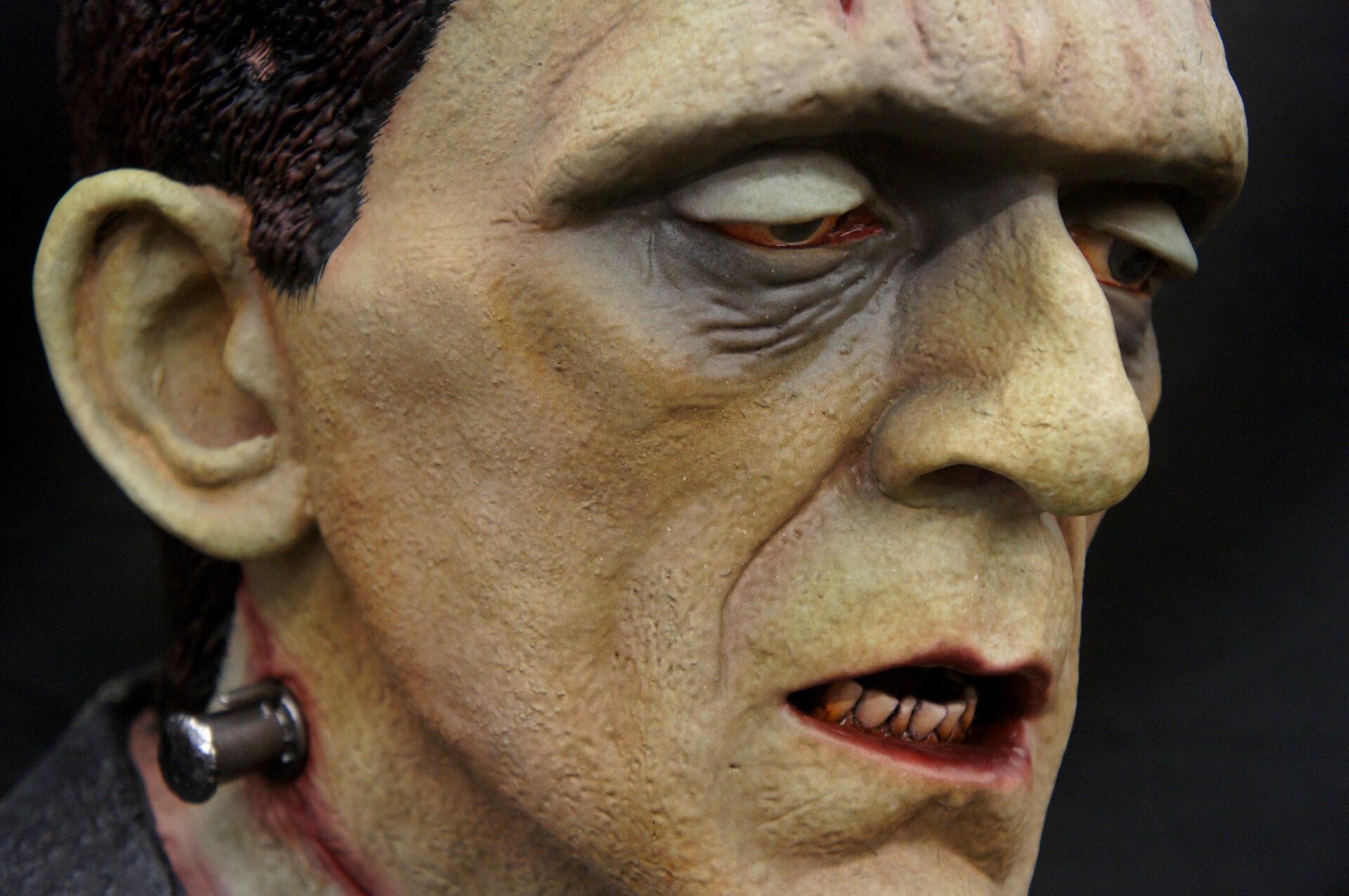 Frankenstein Life-Size Bust
