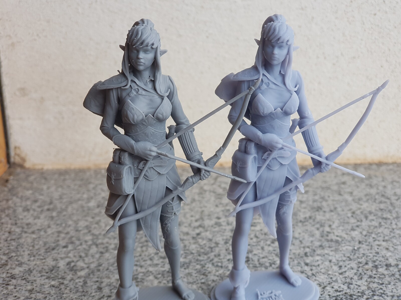 3D prints 90mm (Anycubic Photon with two different resins)