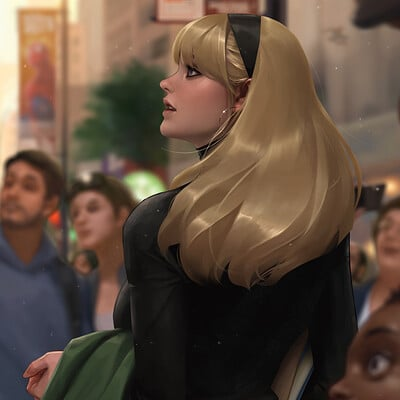 Jeehyung lee marvel gwen stacy