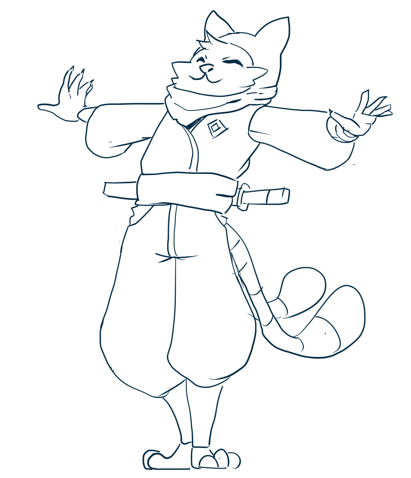 Ninja cat Nao