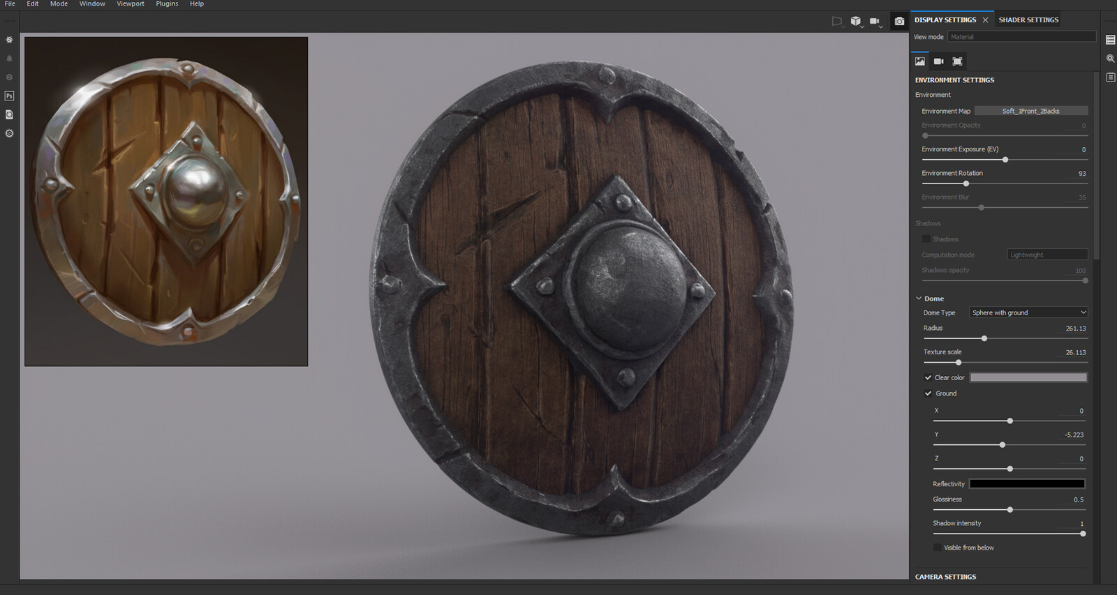 Texturing made on Substance Painter