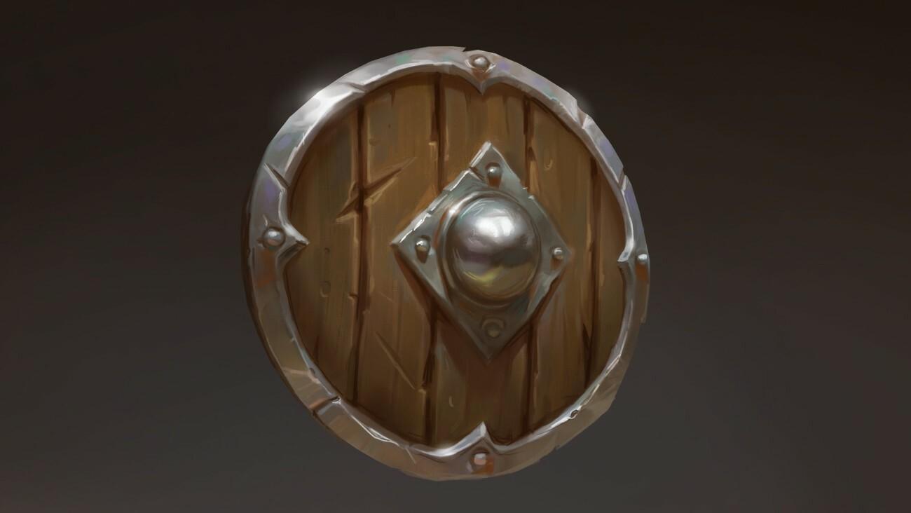 Adrian lan sun luk 04 wooden shield reference concept sergey samarskiy