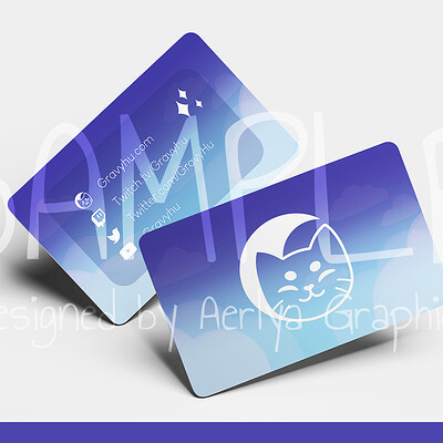 Aerlya graphics sample businesscard